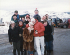 November 1985 - with Andy Ablett and Shug Cumming at Cairngorm...