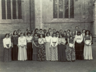 The Cecilian Singers at Dunkeld Cathedral in June 1977.Thanks to Fiona...