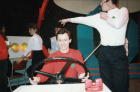 Starship Pinafore, 1990Centre front Alan Brown (former President)Right...